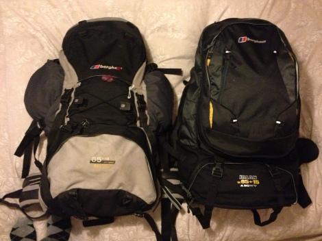 Backpacks for South America