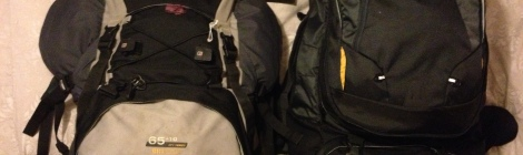 Backpacks for South America