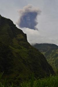 Tongaruhue Ash Eruption