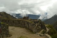 The Incan fortress
