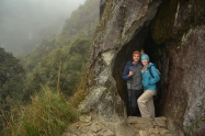 A cave carved by Inca's