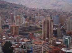 Football stadium La Paz