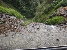 Driving North Yungas Road