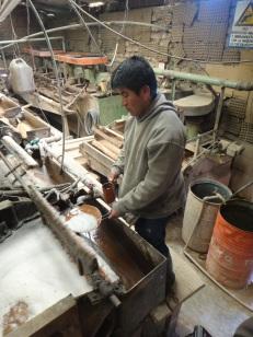 Silver processing plant Potosi