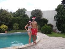 Santas/Lifeguards