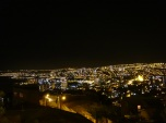 Valpo at night