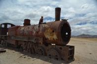 Train graveyard Uyuni
