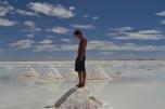 It doesn't take a geology degree Mike- it's salt