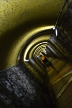 The tunnel to the ascensor