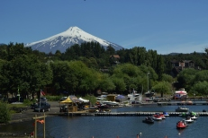 Villarrica from Pucon