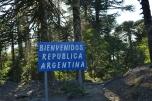 Entering Argentina again