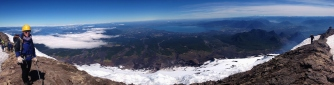 Climbing Villarrica Volcano