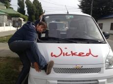 Wicked Van Drop off