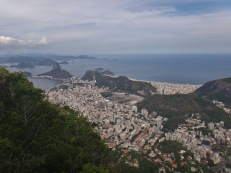 View of Copa and Sugar Loaf