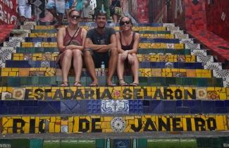 Esacaderia Selaron, Rio