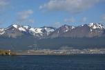 The mountains over Ushuaia