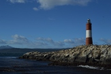 A very stereotypical lighthouse