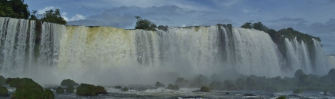 Iguacu from the Brazilian side