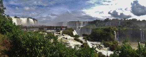 Iguacu from the Brazilian side