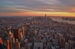 Empire State Building View, New York City