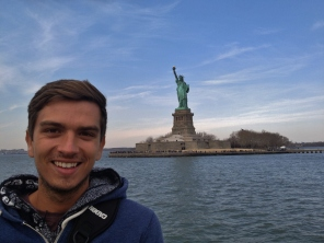 Liberty Island Ferry, New York