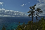 First Glimpse of Lake Tahoe