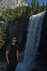 Mike with the Falls
