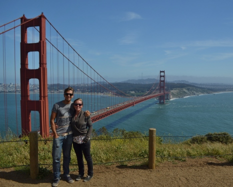 Marin view of Golden Gate Bridge