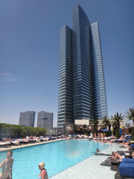 Bamboo Pool Cosmopolitan Vegas